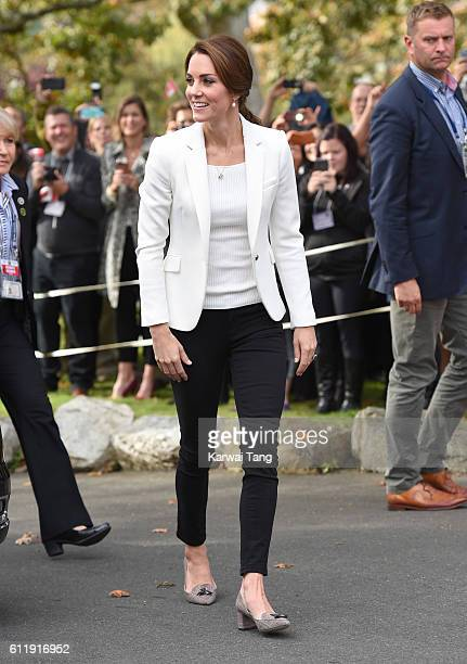 Catherine Duchess of Cambridge visits the Cridge Centre for the Family one of Victoria's most wellknown charitable institutions The Centre provides a...