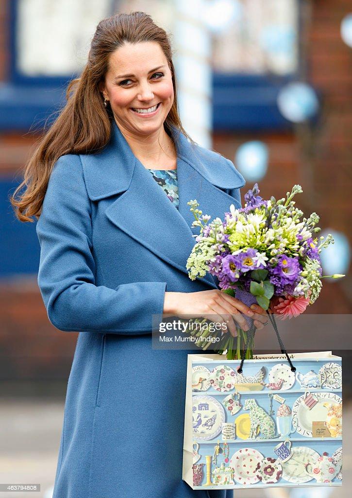 The Duchess Of Cambridge Visits Emma Bridgewater Factory : News Photo