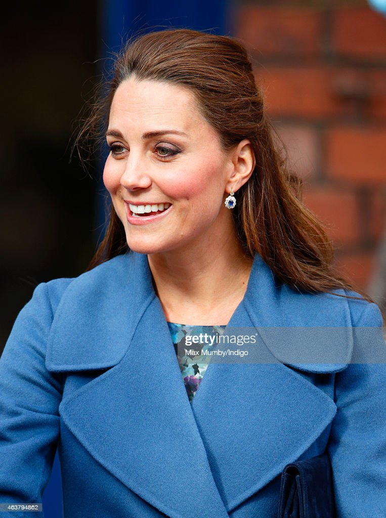 The Duchess Of Cambridge Visits Emma Bridgewater Factory : News Photo