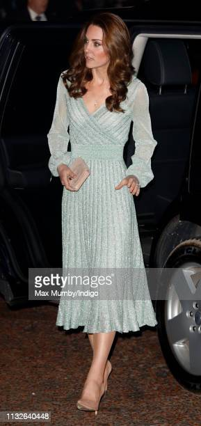 Catherine, Duchess of Cambridge visits the Empire Music Hall on February 27, 2019 in Belfast, Northern Ireland. Prince William last visited Belfast...