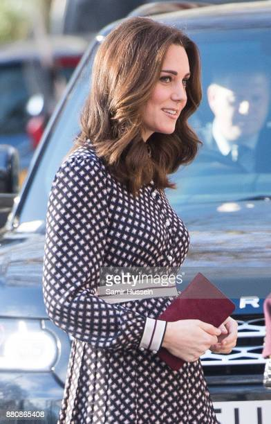 Catherine Duchess of Cambridge visits The Foundling Museum on November 28 2017 in London England