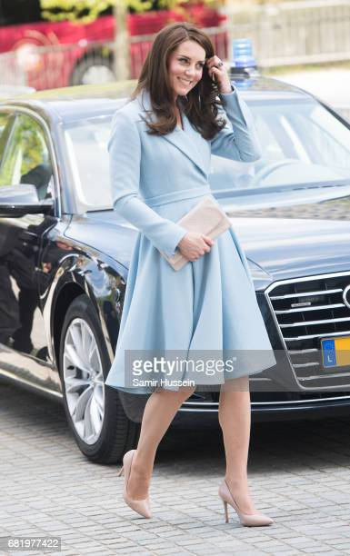 Catherine Duchess of Cambridge visits the Grand Duke Jean Museum of Modern Art where she will view exhibitions by British artists Sir Tony Cragg and...