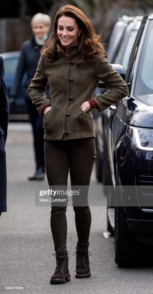 The Duchess Of Cambridge Visits Islington Community Garden : News Photo