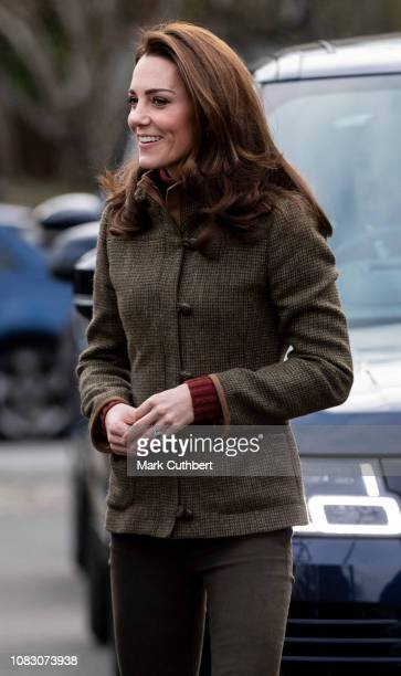 Catherine, Duchess of Cambridge visits the Islington Community Garden to see how the project brings people together through gardening and food...