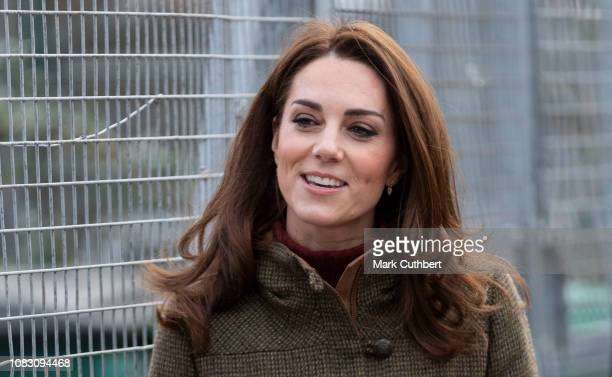 Catherine Duchess of Cambridge visits the Islington Community Garden to see how the project brings people together through gardening and food growing...