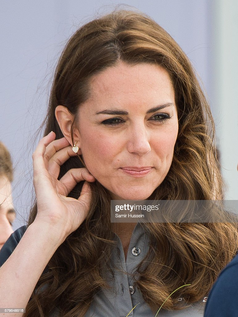 Catherine, Duchess of Cambridge and Prince William, Duke of Cambridge Visit The America's Cup World Series : News Photo