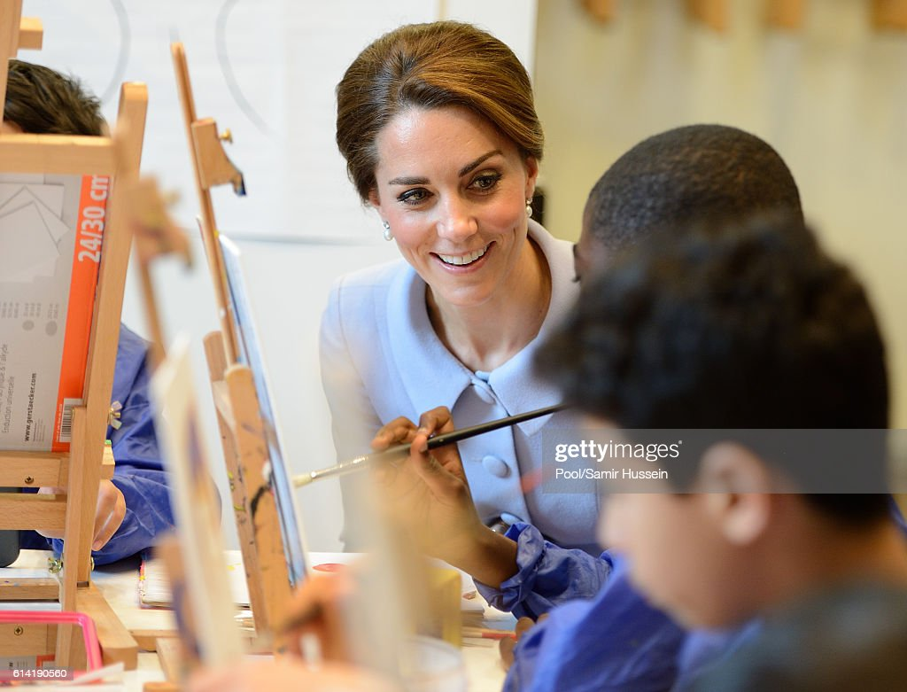 The Duchess Of Cambridge Visits The Netherlands : News Photo