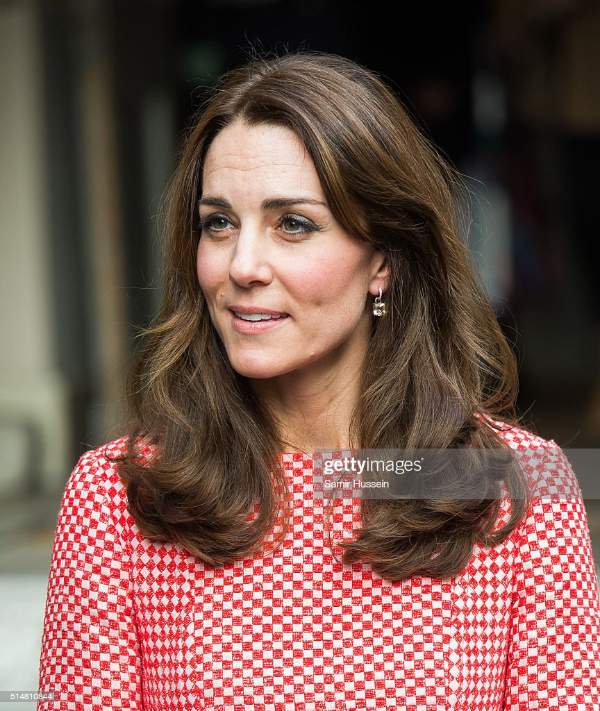 Catherine, Duchess of Cambridge visits the mentoring programme of the XLP project.London Wall on March 11, 2016 in London, England. XLP supports young people who are facing emotional, behavioural and relational challenges.