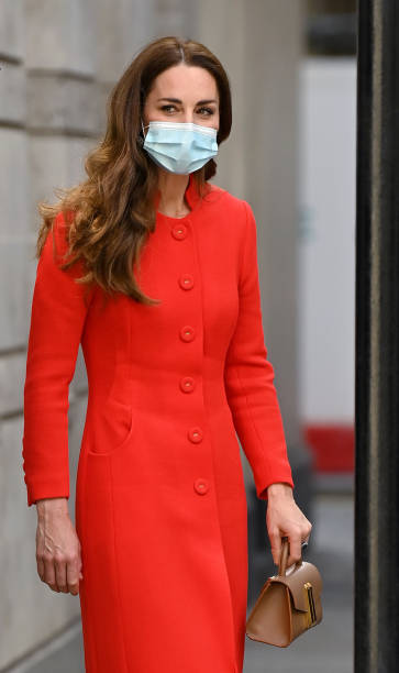 """GBR: The Duchess Of Cambridge Marks The Publication Of """"Hold Still"""""""