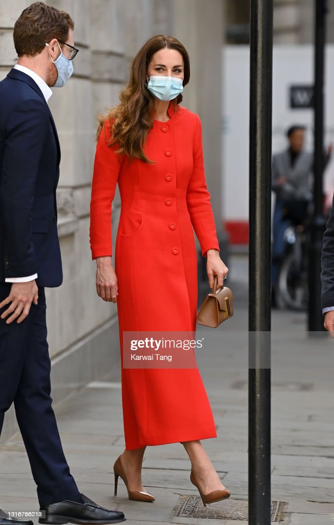 """The Duchess Of Cambridge Marks The Publication Of """"Hold Still"""" : News Photo"""