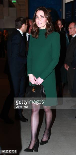 Catherine Duchess of Cambridge visits the Nobel Museum during day one of her Royal visit to Sweden and Norway with Prince William Duke of Cambridge...