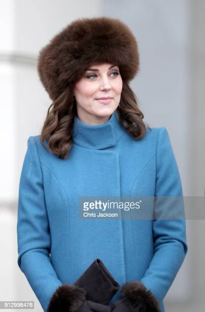 Catherine Duchess of Cambridge visits the Princess Ingrid Alexandra Sculpture Park within the Royal Palace Gardens on day 3 of her visit to Sweden...