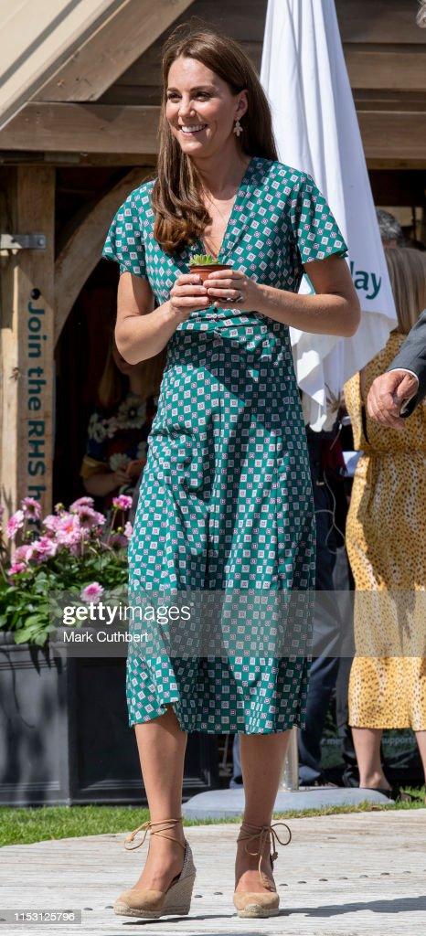 2019 RHS Hampton Court Palace Flower Show : News Photo