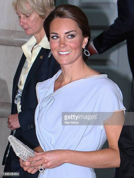 Catherine Duchess of Cambridge Visits The Royal Academy Of Arts on July 30 2012 in London England