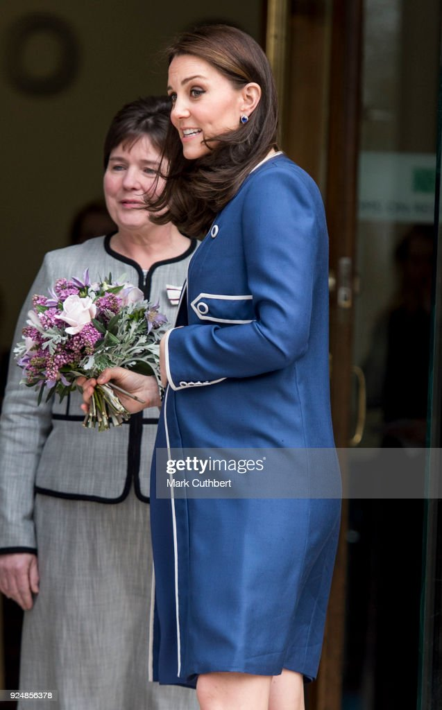 The Duchess Of Cambridge Visits The Royal College Of Obstetricians And Gynaecologists : News Photo