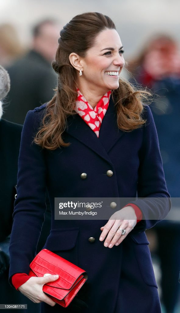 The Duke And Duchess Of Cambridge Visit South Wales : Foto di attualità