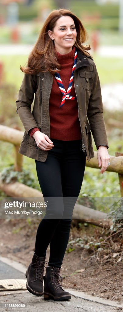 The Duchess Of Cambridge Visits The Scout's Early Years Pilot At Gilwell Park : Fotografia de notícias