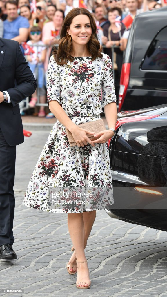 The Duke And Duchess Of Cambridge Visit Poland - Day 2 : ニュース写真