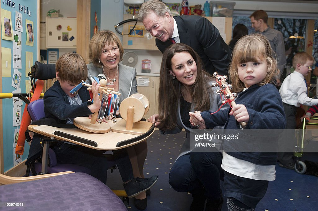 The Duchess Of Cambridge Visits Shooting Star House Children's Hospice : News Photo