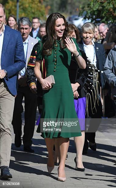 Catherine, Duchess of Cambridge visits the University of British Columbia on September 27, 2016 in Kelowna, Canada.