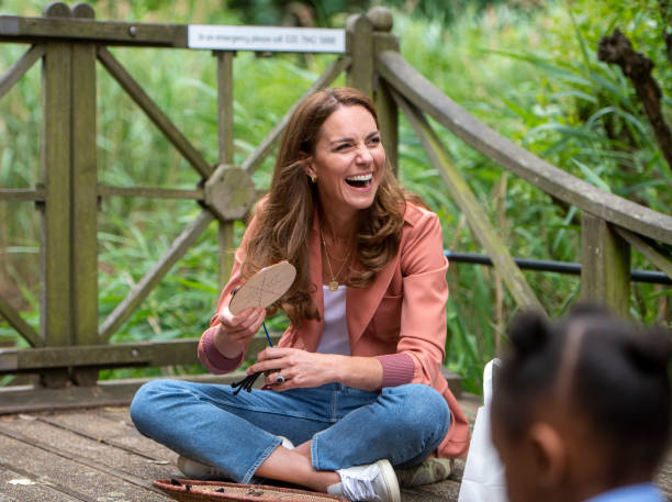 GBR: The Duchess Of Cambridge Visits The Natural History Museum