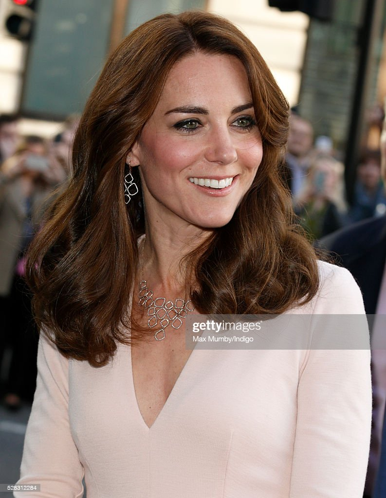 The Duchess Of Cambridge Visits The 'Vogue 100: A Century Of Style' Exhibition : News Photo