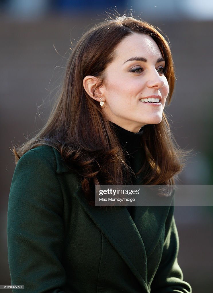 The Duchess Of Cambridge Visits Edinburgh : News Photo