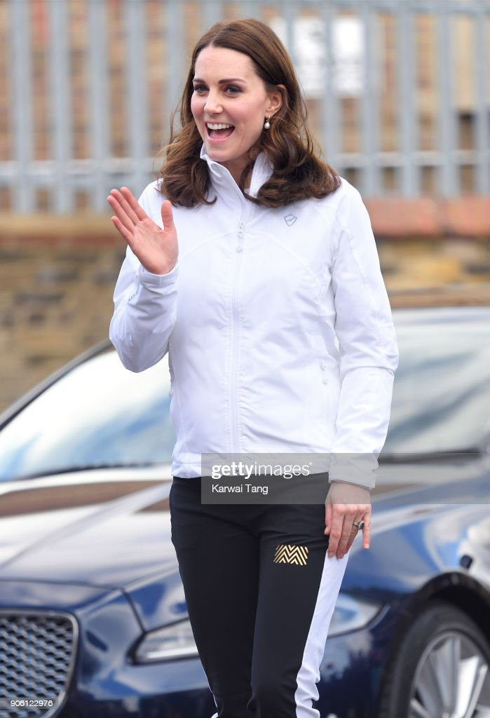 The Duchess of Cambridge Visits The Wimbledon Junior Tennis Initiative