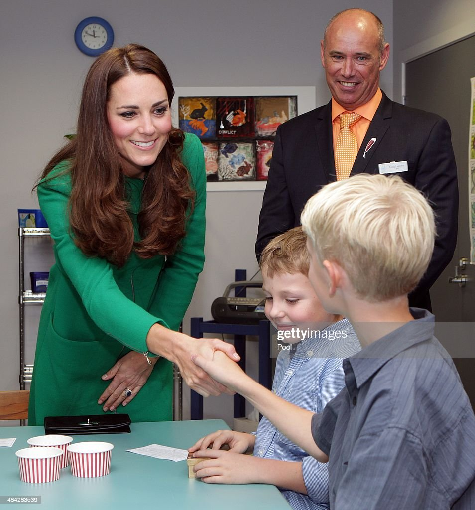 The Duke And Duchess Of Cambridge Tour Australia And New Zealand - Day 6 : Fotografía de noticias