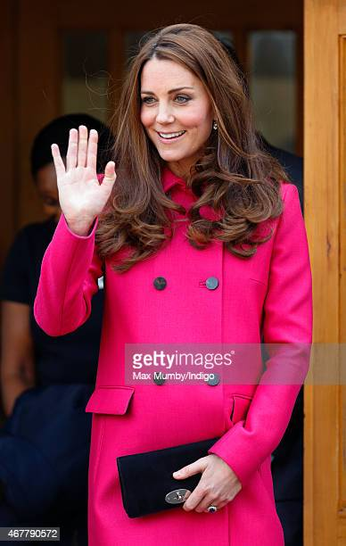 Catherine Duchess of Cambridge visits XLP at Christ Church Gipsy Hill during a day of engagements to support development opportunities for young...