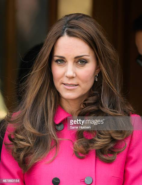 Catherine Duchess of Cambridge visits XLP at Christ Church Gipsy Hill on March 27 2015 in London England