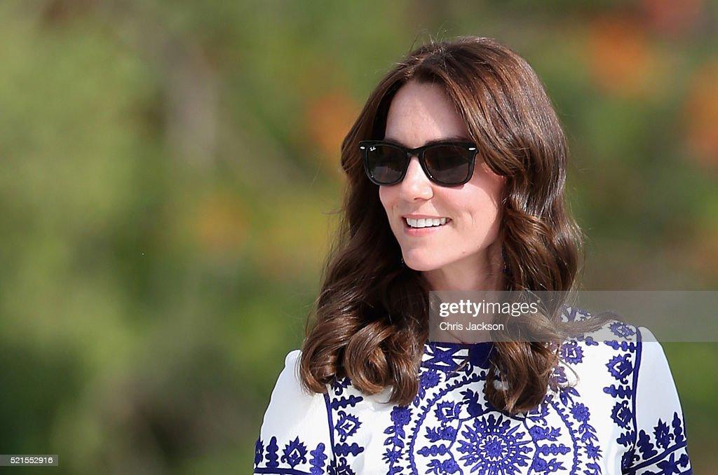 The Duke and Duchess Of Cambridge Visit India and Bhutan - Day 7 : News Photo