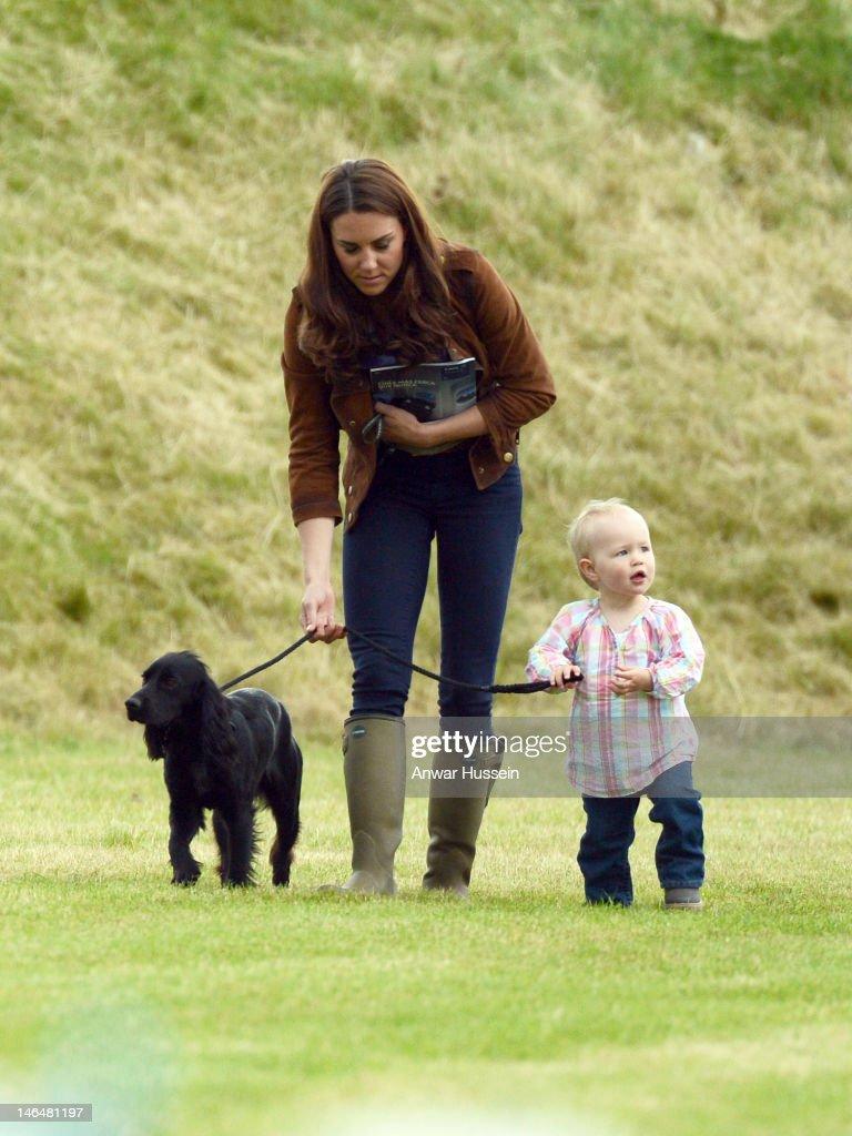 Duke & Duchess of Cambridge - Golden Metropolitan Polo Club Charity Cup : News Photo
