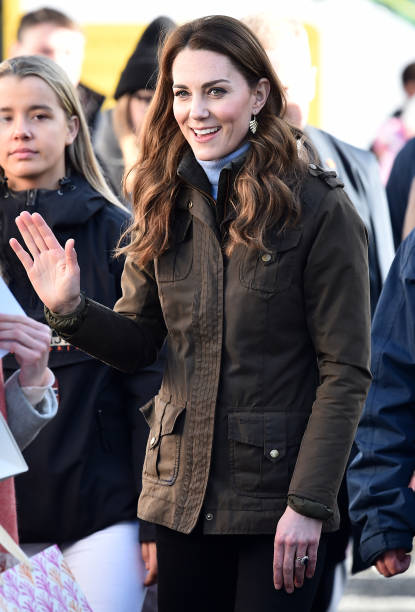 GBR: The Duchess Of Cambridge Visits Northern Ireland