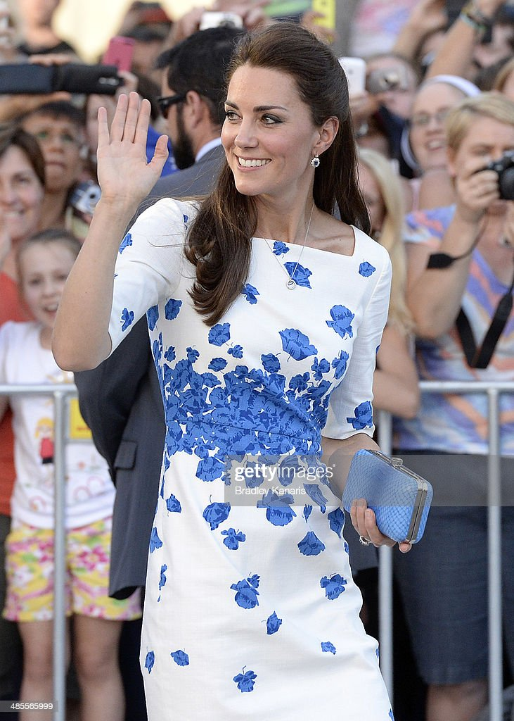 The Duke And Duchess Of Cambridge Tour Australia And New Zealand - Day 13 : Nachrichtenfoto