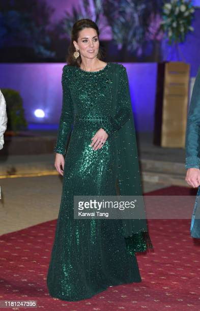 Catherine, Duchess of Cambridge with Prince William, Duke of Cambridge attend a special reception hosted by the British High Commissioner to Pakistan...