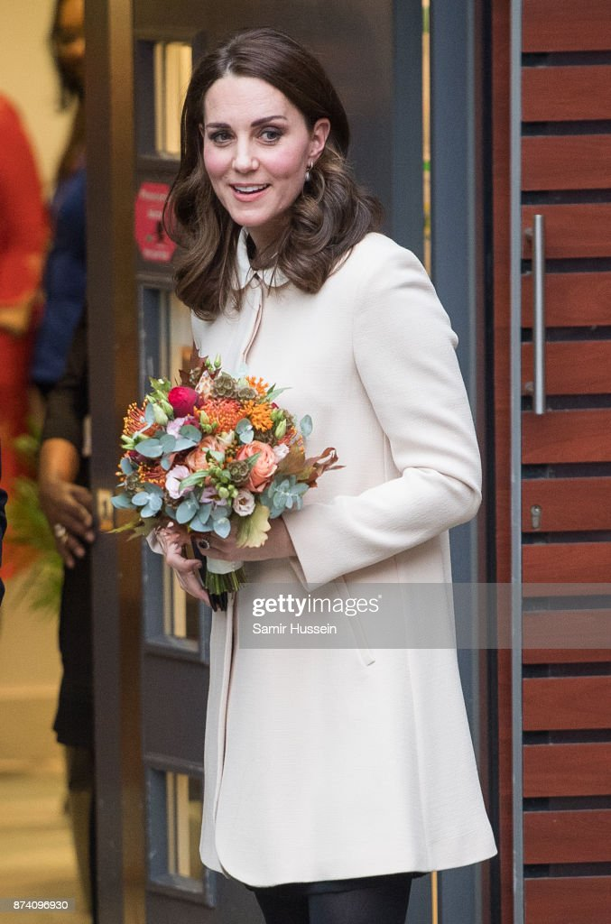 Catherine, Duchess of Cambridgevisits Hornsey Road Children's Centre on November 14, 2017 in London, England.