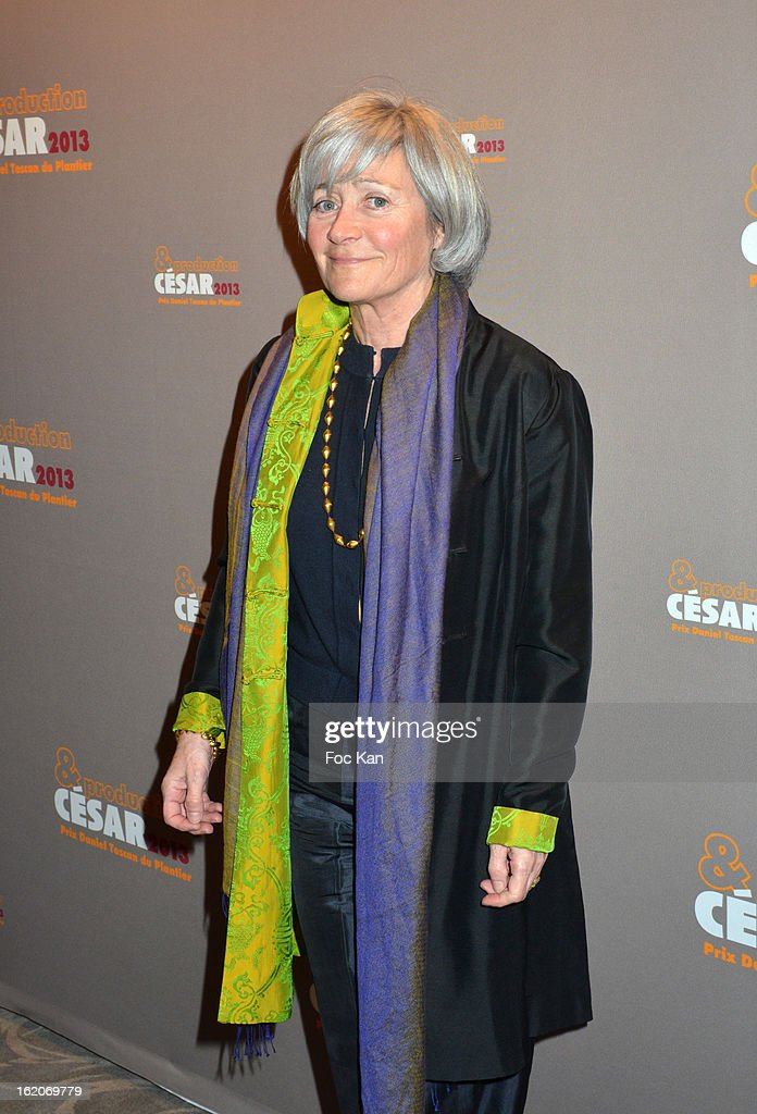 Catherine Dussart attends the Producer's Dinner - Cesar Film Awards 2013 at Georges V on February 18, 2013 in Paris, France.