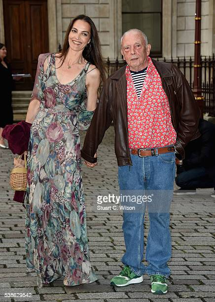 Catherine Dyer and David Bailey attend the VIP preview of the Royal Academy of Arts Summer Exhibition 2016 at Royal Academy of Arts on June 7 2016 in...