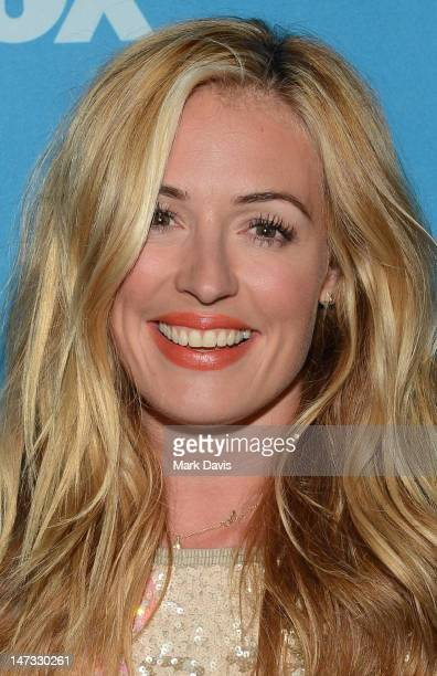 Catherine Elizabeth Cat Deeley poses at the Fox Celebrates The 200th Episode Of So You Think You Can DanceCBS Television City on June 25 2012 in Los...