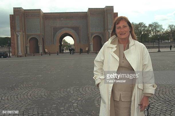 Catherine Feff created the copy of the Bab El Mansur Gate in the Place de la Concorde