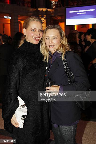 Catherine Flemming Und Gast Bei Der Ard Blue Hour Opening Party Bei Der 60 Berlinale In Berlin