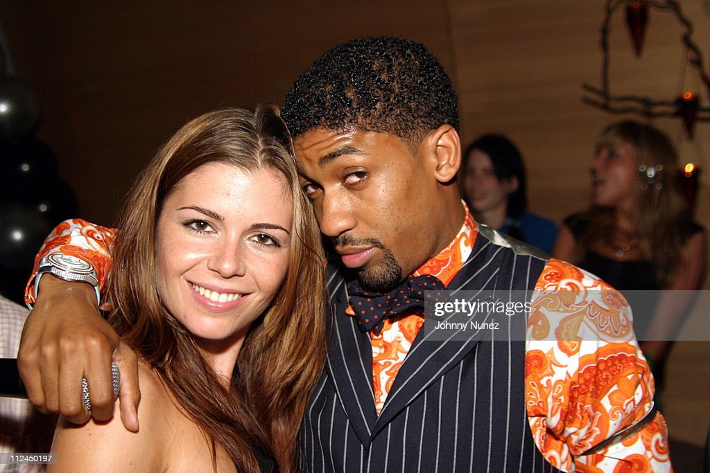 Catherine Fulmer and Fonzworth Bentley during Butter's Two Year Anniversary at Butter in New York City, New York, United States.