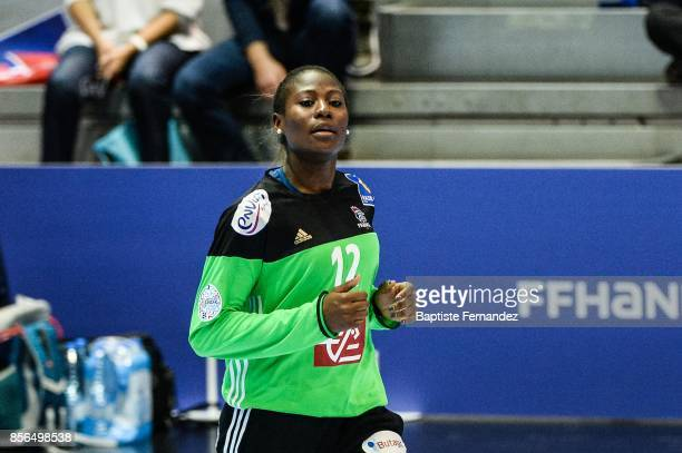 Catherine Gabriel of France during the handball women's international friendly match between France and Brazil on October 1 2017 in TremblayenFrance...