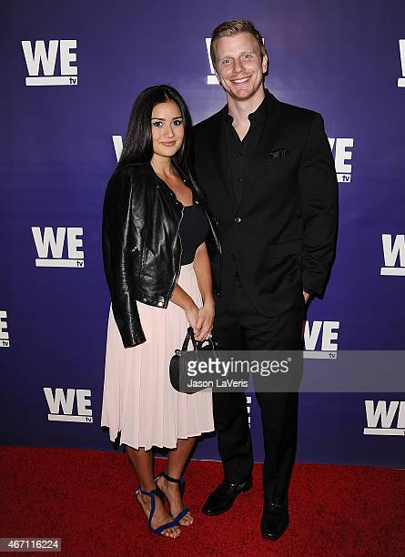 Catherine Giudici and Sean Lowe attend 'The Evolution Of The Relationship Reality Show' at The Paley Center for Media on March 19 2015 in Beverly...