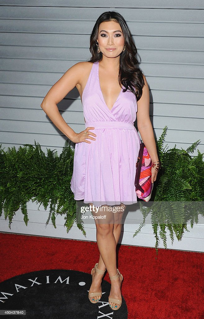 Catherine Haena Kim arrives at the MAXIM Hot 100 Celebration Event at Pacific Design Center on June 10, 2014 in West Hollywood, California.