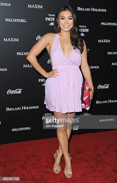 Catherine Haena Kim arrives at the MAXIM Hot 100 Celebration Event at Pacific Design Center on June 10 2014 in West Hollywood California