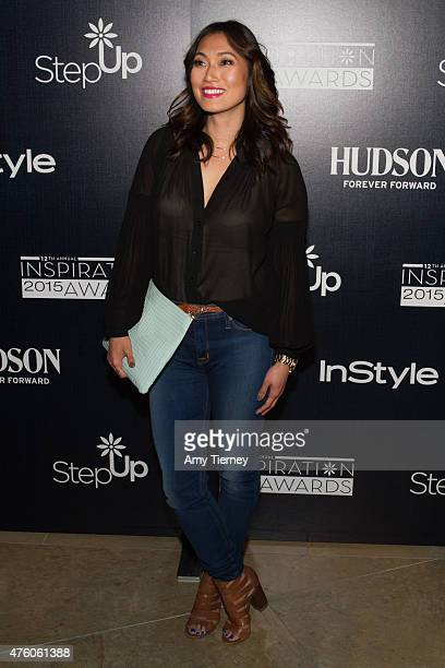 Catherine Haena Kim attends the Step Up Women's Network 12th Annual Inspiration Awards at The Beverly Hilton Hotel on June 5 2015 in Beverly Hills...