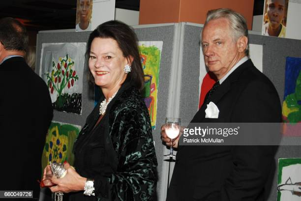 Catherine Hamilton and David Hamilton attend WELCOME TO GULU EXHIBITION AND BENEFIT ART SALE ANTIHUMAN TRAFFICKING INNITIATIVE at The United Nations...