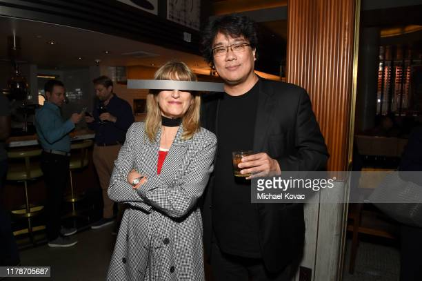 Catherine Hardwicke and Bong Joon Ho at the after party for the Los Angeles Premiere of Parasite on October 02 2019 in Hollywood California